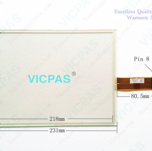 2711P-B10C4A9 Touch Screen and Membrane Keyboard