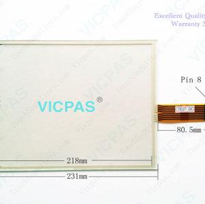 2711P-B10C4A1 Touch Screen Membrane Keyboard