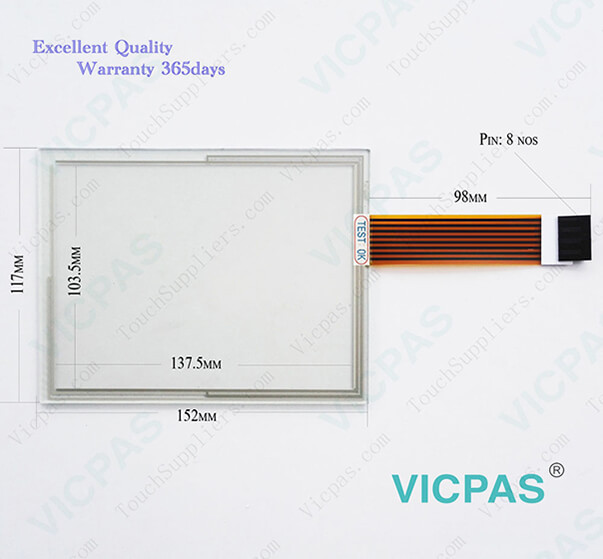 Touch screen for 2711P-T7C10D6