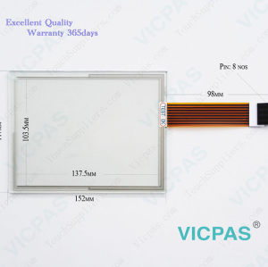 2711P-T7C6A7 Touch Screen Glass Panel