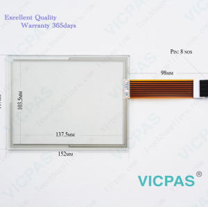 2711P-T7C15D2 Touch Screen Glass Panel Repair