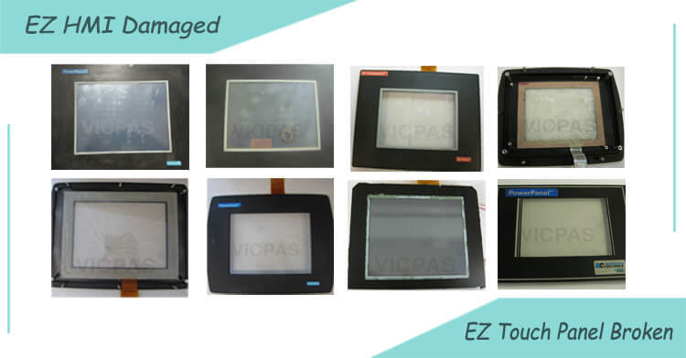 ezautomation hmi touchscreen glasreparatur