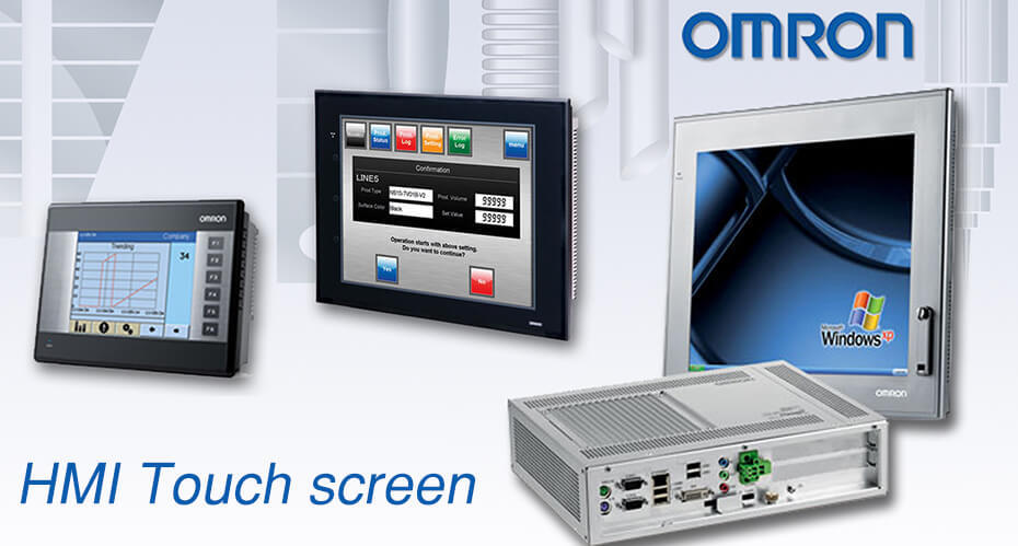 omron HMI touch screen panel glass repair