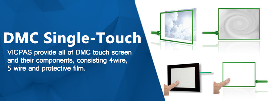 DMC 4wire and 5wire resistive touch screen glass repair