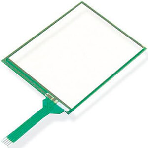 dmc resistive touch screen glass reapir for qst series