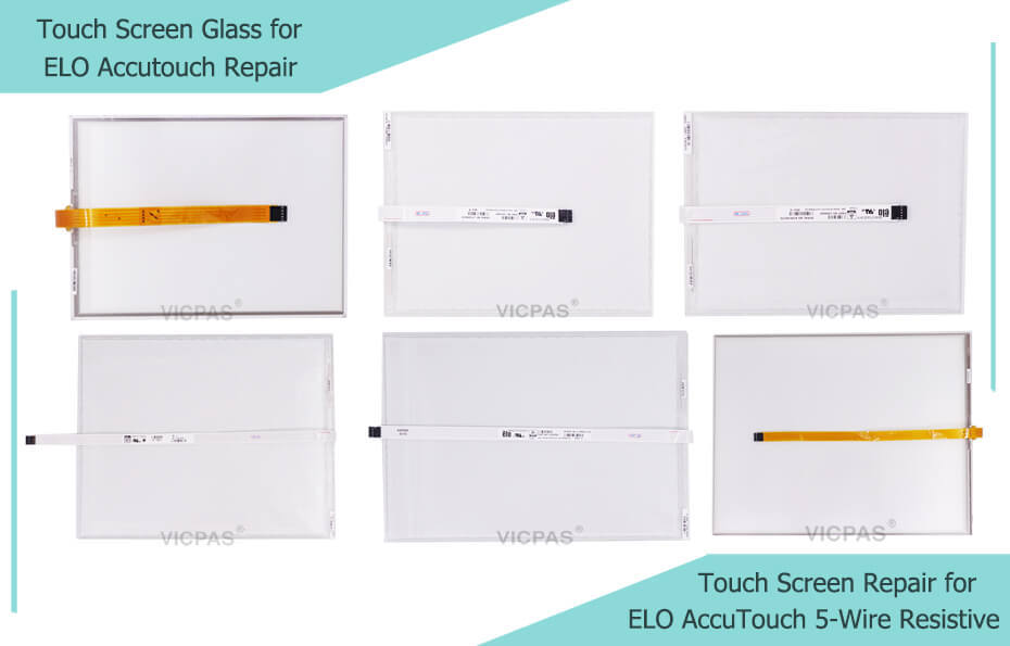elo accutouch 5wire  resistive touch screen panel glass repair