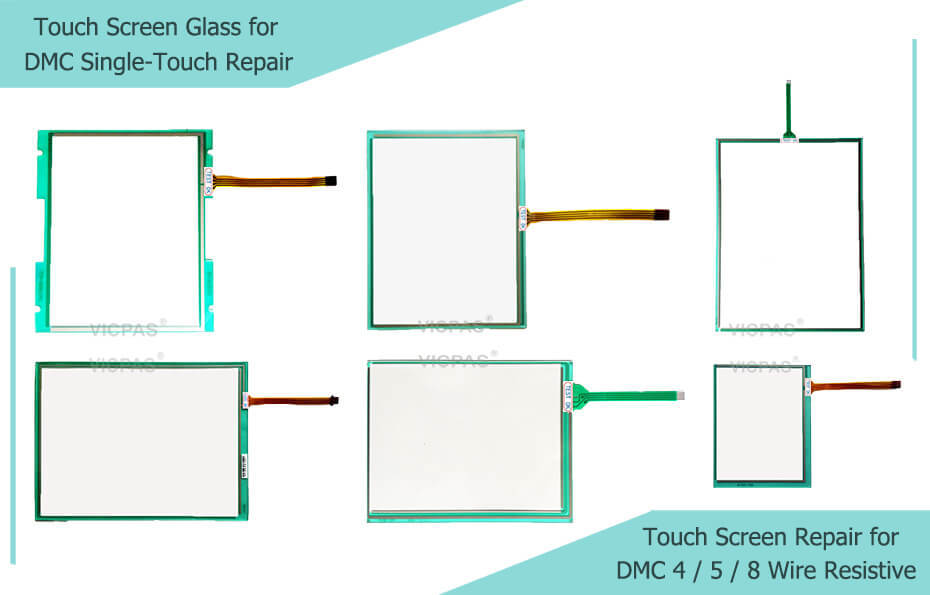DMC Single-Touch Glasreparatur mit resistivem Touchscreen