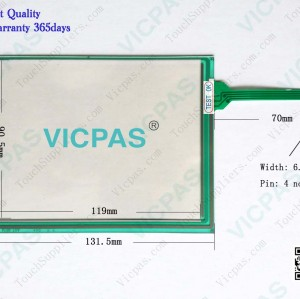 TP-3567S1 Touch Screen Panel Glass
