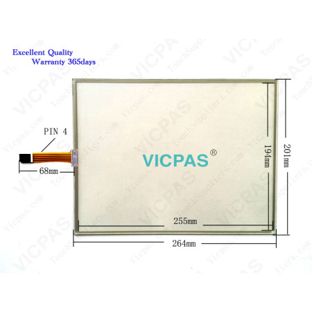 TP-3342S1F0 Touch screen panel glass repair