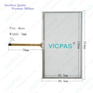 A3026ASMH161 touch screen panel glass membrane film sensor