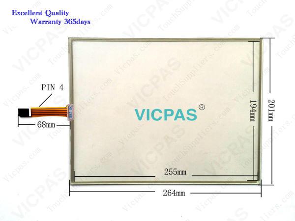 UF7811-2-DV1-24V Pantalla táctil Cristal del panel