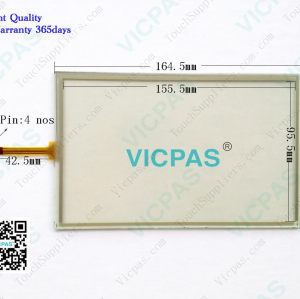 91.10735.000 1071.0154 touch screen panel glass