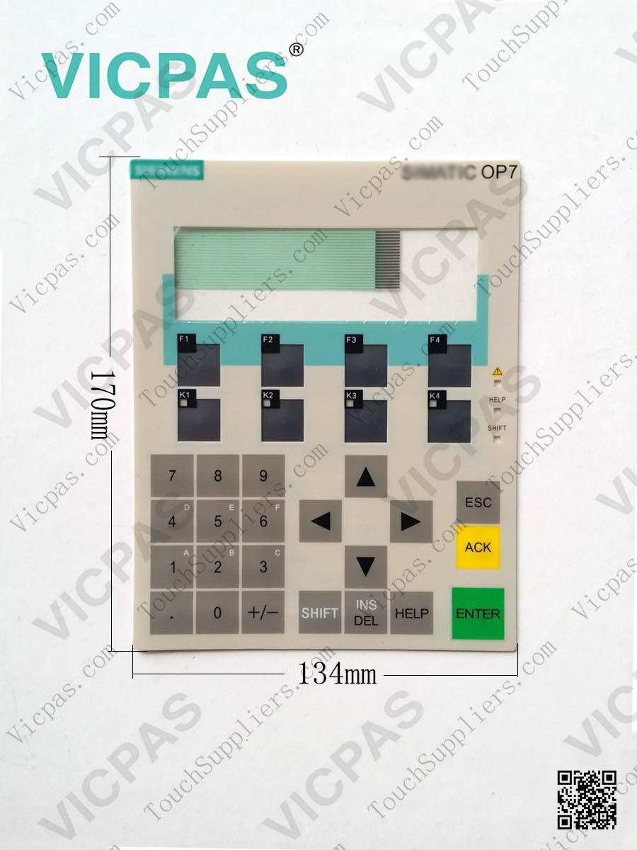81-0121 3NET750-1050-01 Membrane Keyboard Keypad Repair
