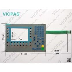 M-0759 Mfr.date:22/11 Interruptor del teclado con teclado de membrana