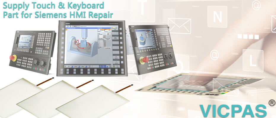 For Siemens Simatic HMI touch screen glass & operator panel repair / replacement