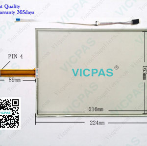 E1002 P/N 2420263 Touch Screen Panel Glass