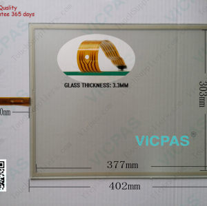 T190C-5RBA16N-3A28R4-200FH Touch Screen Panel Glass