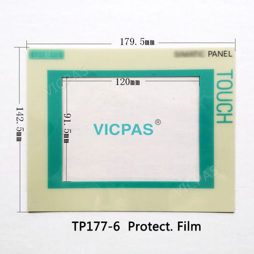 Замена сенсорного стекла и защитной пленки для Siemens Simatic TP177 A B