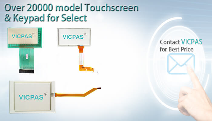 2711P-T10C22D8S 2711P-T10C22D8S-B Touch Screen Panel Glass Replacement