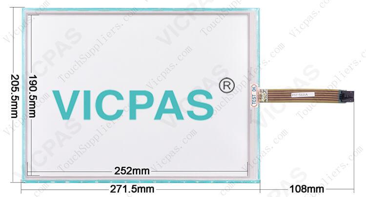 DMC FST-T121B110I FST-T121C110A Touch Screen Panel repair