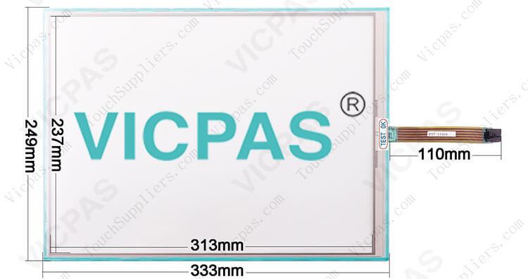 DMC FST-T150A FST-T150A110I Touch Screen Panel Glass repair