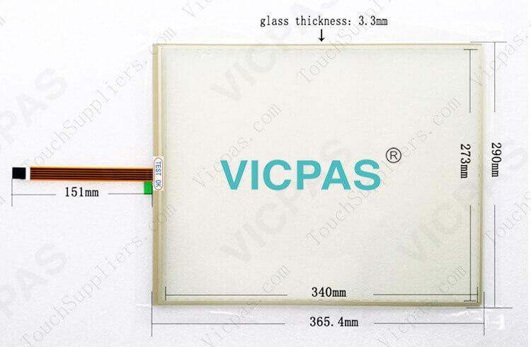 FST-T170A FST-T170A110I Touch Screen Glass DMC Original repair