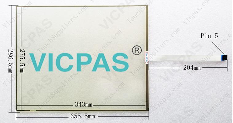 FST-T170B110I FST-T170C110A Touch Screen Panel Glass Repair