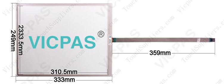 DMC TP-3478S2 Touch Screen Glass Repair