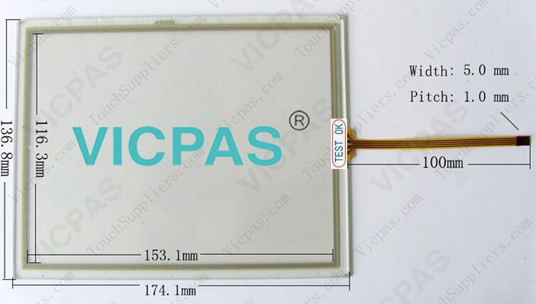 6AV6643-5CD30-0YA0 MP277-10 membrane keypad