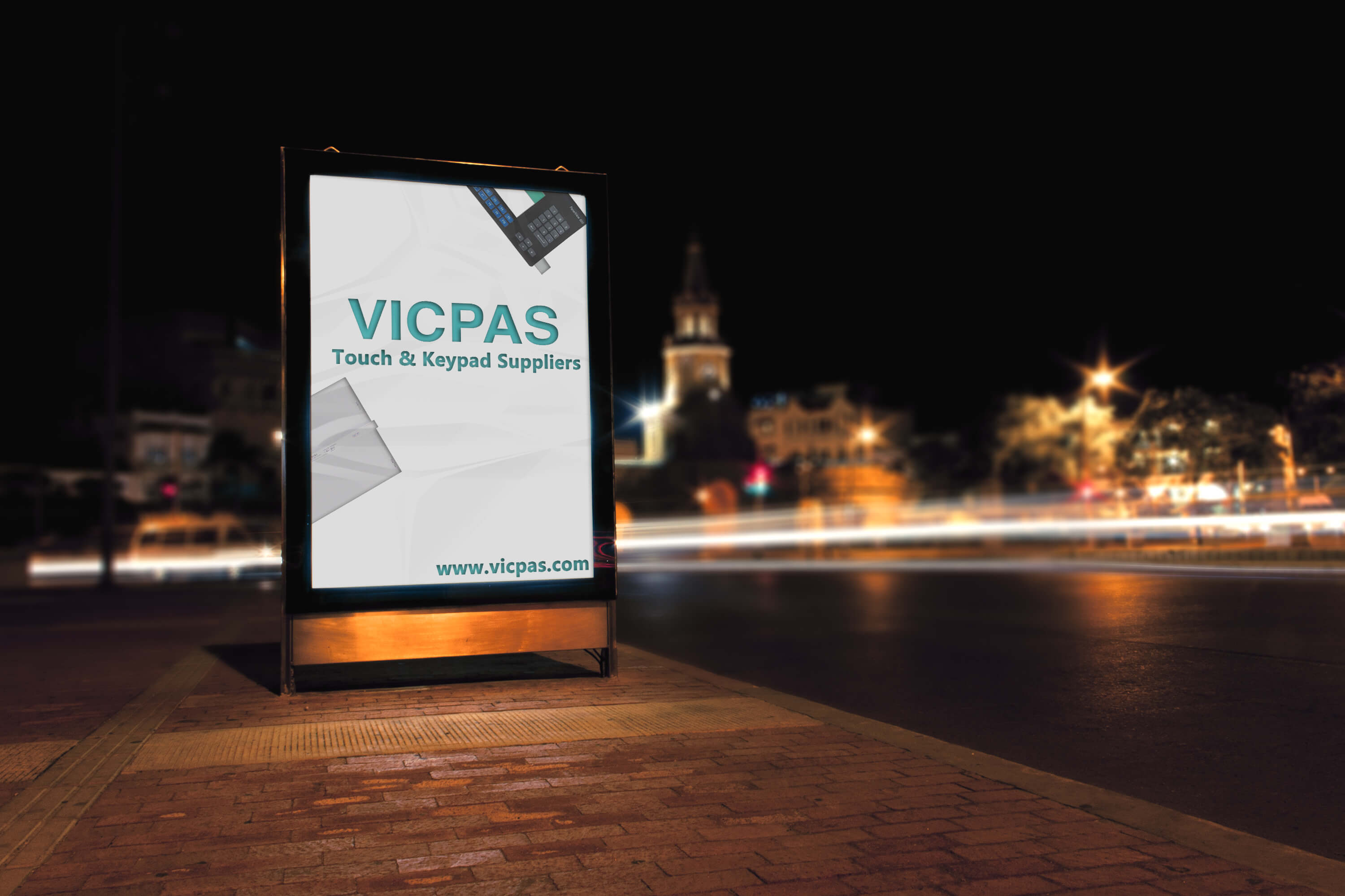 vicpas touch screen glass