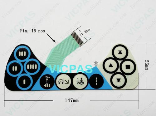 لإصلاح ABB Robot IRC5 3HAC028357-001 DSQC679 TPU3 3HAC023195-006 KEBA STUP3