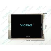 para la reparación de KUKA Smartpad Controller con pantalla LCD, cristal táctil y teclado