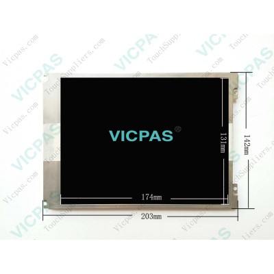 لإصلاح KUKA Smartpad Controller مع شاشة LCD وزجاج بشاشة تعمل باللمس ولوحة مفاتيح
