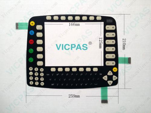für KUKA Smartpad Controller Reparatur mit LCD-Display, Touchscreen-Glas und Tastatur