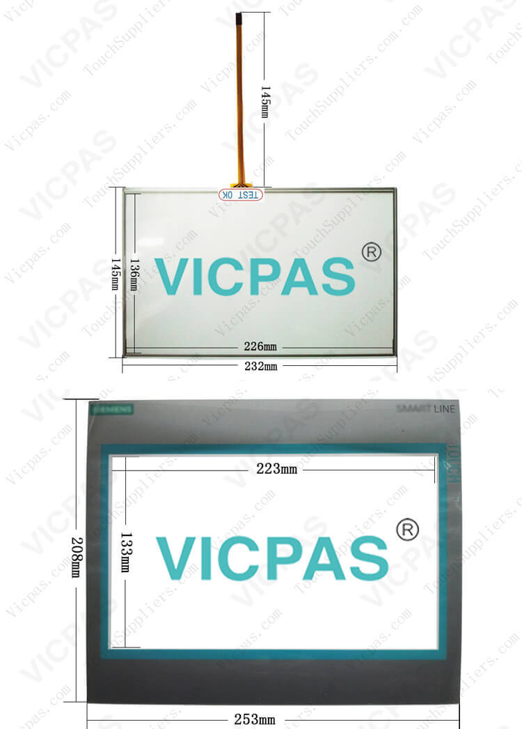 6AV6648-0CE11-3AX0 6AV6648-0BE11-3AX0 Touch Screen Glass Repair