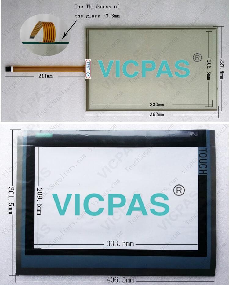 6AV7861-2AB00-2AA0 6AV7861-2AB10-2AA0 Touch Screen Glass Repair