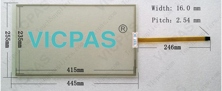 6AV7861-3AA00-2AA0 6AV7861-3AB00-2AA0 Touch Screen Glass Repair