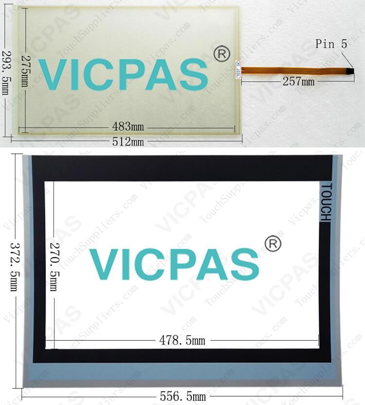 6AV7863-4MA14-0AA0 6AV7863-4MA15-0AA0 Touch Scree Panel