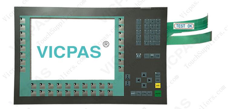 6AV6644-0BA01-2AX0 6AV6644-0BA01-2AX1 Membrane Keyboard Keypad Repair