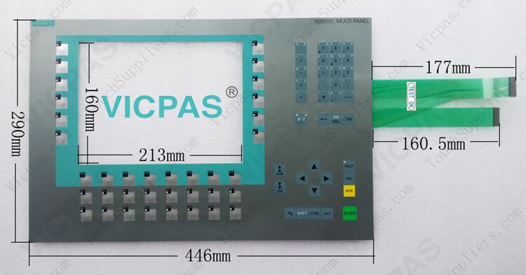 6AV6643-0DD01-1AX1 6AV6643-0DD01-1AX2 Membrane Keypad Switch Repair