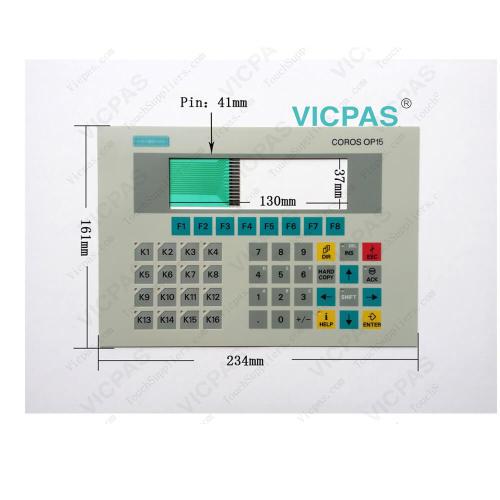 6FC5248-0AF03-0AA0 6FC5248-0AF25-0AA0 6FC5200-0AC32-1AC5 Membrane Keypad
