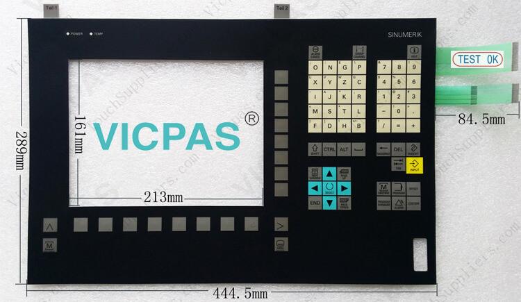 6FC5248-0AF00-0AA0 6FC5203-0AF00-0AA0 6FC5247-0AA25-1AA0 6FC5248-0AF00-0AA2 6FC5248-0AF11-0AA0 Membrane Keyboard Keypad Repair replacement