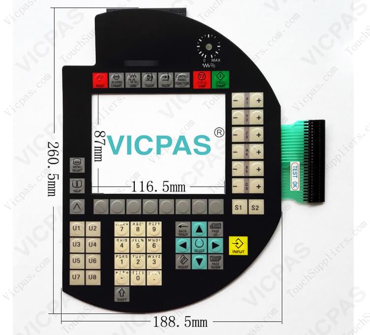 6FC5403-0AA10-0AA1 6FC5453-6AX11-1AG3 Reparación de teclado con teclado de membrana