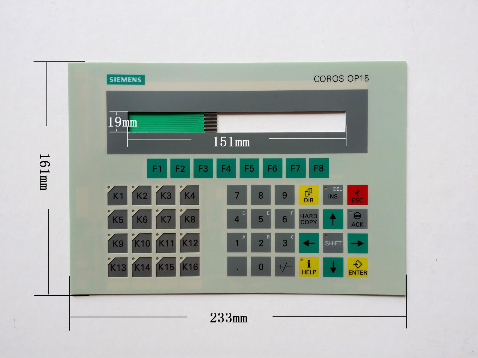 6FC5200-0AC32-1AC4 6FC5203-0AF05-0AB1 6FC5303-0AF14-0AA0 6FC5203-0AF05-1AB1 6FC5248-0AF26-0AA0 Membrane Keypad Repair