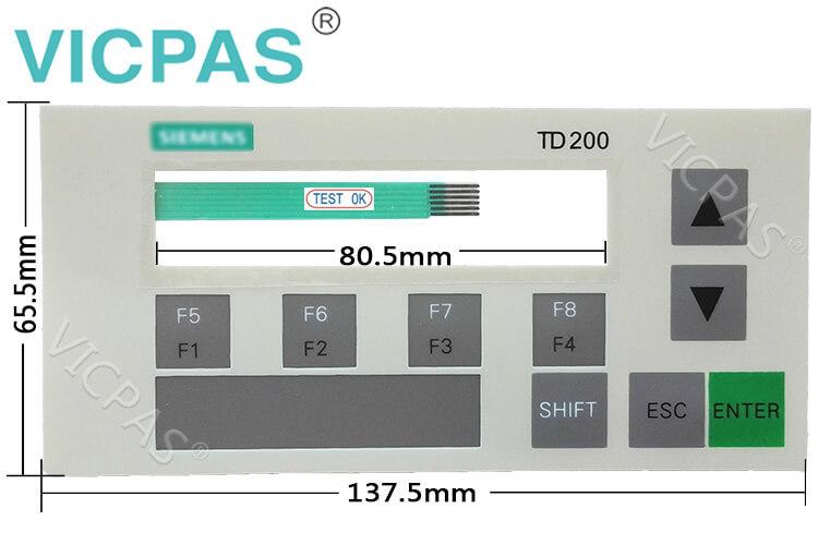 6AG1272-0AA30-2YA1 6AG1272-1AA10-2YA1 Membrane Keyboard Keypad Repair