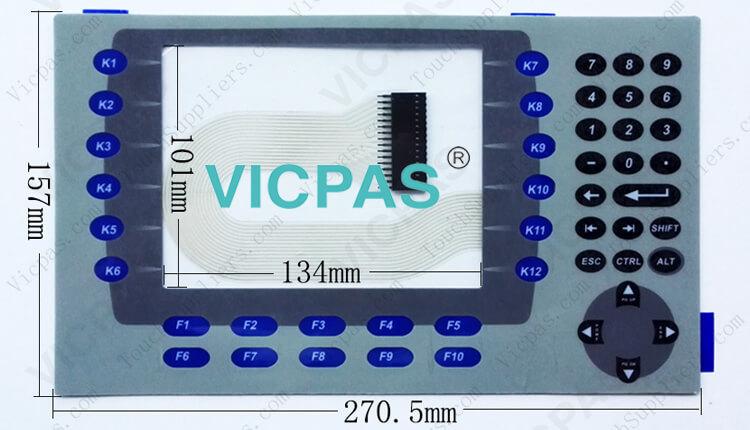 2711P-RDB7C 2711P-RDB7CK 2711P-RDB7CM Membrane Keyboard Keypad repair