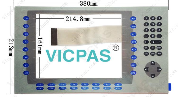2711P-RDK10C 2711P-RDB10C 2711P-RDB10CM Membrane Keypad Switch Repair