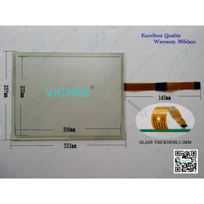 1071.0122B Touch Screen Panel SK-07 Touch Screen Glass