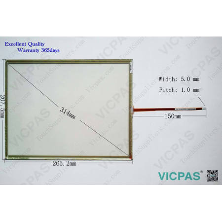 TT10060A40 S612S18P6L3AS1164400145 Touch Screen Glass