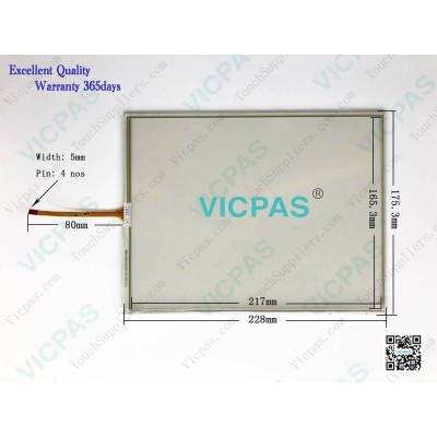 T010-1201-X111-04-NA 1201-X111/04-NA Touch Screen Panel Glass Repair